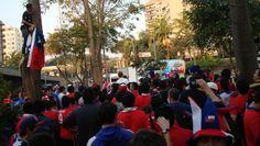 Festa Torcida Chilena em Hotel (Foto: André Guerreiro)