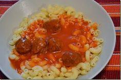 rajska omacka Czech Recipes, Ethnic Recipes, Diy Food, Chana Masala, Macaroni And Cheese, Cooking Recipes, Meat, Czech Food, Cuba
