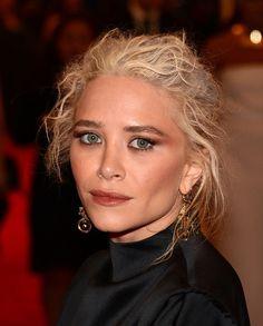 Mary-Kate Olsen Messy Updo