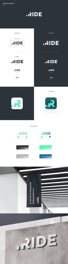 Ride Logo by Ted Kulakevich