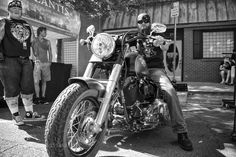 Man on a Harley Norman Music Festival by crushton43 Street Photography #InfluentialLime