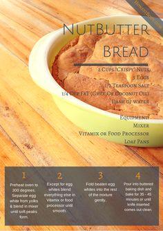 GAPS Diet Stage 4 Nutbutter Bread