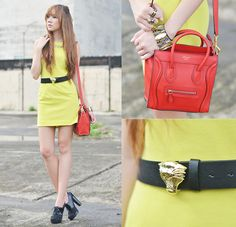 Neon Candy (by Camille Co) http://lookbook.nu/look/4089170-Neon-Candy