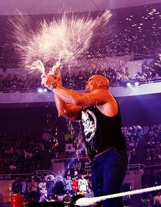 Stone Cold Steve Austin With That Beer