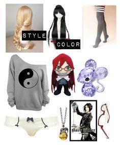 """""""Mei-Rin sleep wear"""" by buttstabber ❤ liked on Polyvore featuring art"""