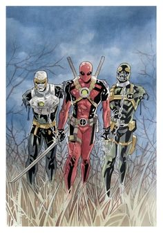 Deadpool x The Walking Dead by Thony Silas