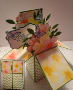 Watercolor Wonder Card in a Box by smithr66 - Cards and Paper Crafts at Splitcoaststampers