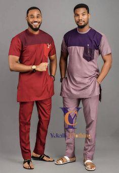 Latest African Men Fashion, African Wear Styles For Men, African Shirts For Men, Nigerian Men Fashion, African Dresses Men, African Attire For Men, African Clothing For Men, African Style, Dashiki For Men
