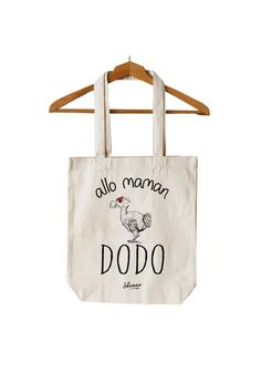 """Tote Bag """"Allô Maman"""""""