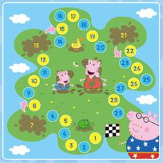 Links to pages for grown-ups, but there is a tab which takes you to the children's section. Peppa Pig Party Games, Peppa Pig Printables, George Pig, Lego For Kids, Toy House, 2nd Birthday Parties, Pig Birthday, Stuffed Toys Patterns, Sticker Chart