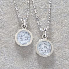 Just One More Chapter Necklace  LOTS of NEW Jewelry! Get Yours Today!  #UniqueGifts #GiftsForWomen #Gifts #GiftsForAllOccassion #InspirationalGifts