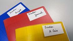 chanllenge-jour-2-3 Dotted Bullet Journal, Bullet Journal Notebook, Organization Bullet Journal, Desk Organization, Diy Cahier, Home Management Binder, Smash Book, Bujo, Messages
