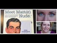 An easy, everyday eye look using the Meet Matt(e) Nude palette by The Balm