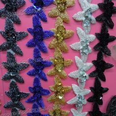 #Rhinestone appliques consists of all of the available colors such as red, yellow, blue etc with shiny appearance and exotic cuts.