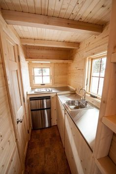 Small Houses On Wheels + interiors   ... for sale 7 399x600 New Tumbleweed Fencl Tiny House on Wheels for Sale