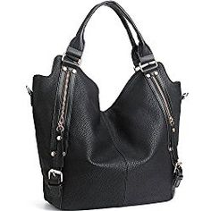 ca7fefc958 Buy Women Handbags Hobo Shoulder Bags Tote PU Leather Handbags Fashion  Large Capacity Bags - Large Black - and More Fashion Bags at Affordable  Prices.