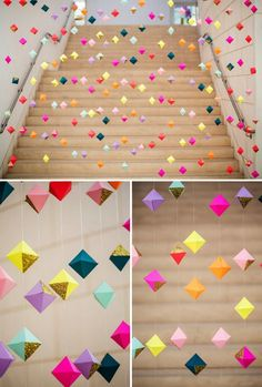 Origami DIY Hintergrund Dekor Holz Designs Mens Underwear – The New Sensation Article Body: A dildo Diy Backdrop, Backdrop Decorations, Ceremony Backdrop, Hanging Decorations, Handmade Decorations, Diy Ceiling Decorations, Paper Wedding Decorations, Diy Diwali Decorations, Party Backdrops