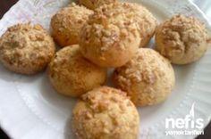 Kahveli Cevizli Kurabiye Sweet Cakes, Yogurt, Cake Recipes, Tart, Muffin, Lemon, Food And Drink, Cookies, Baking