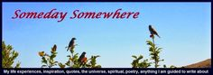 Someday Somewhere - Turn  http://suzysomedaysomewhere.blogspot.co.nz/2014/11/five-minute-friday-turn.html