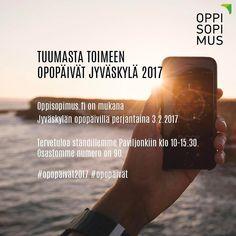 Oletko tulossa Jyväskylän opopäiville? Oppisopimus.fi on mukana perjantaina. Nähdään osastolla 90. #opopäivät2017 #opopäivät #oppisopimus