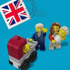 Lego celebrates royal birth