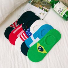 Summer socks slippers 2018 World Cup mesh breathable  #Connect2day