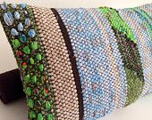 Rag Rug Cushion Covers With Pillow Inserts Made To Fit Inside Karen Isenhower Weaving Pinterest And Pillows