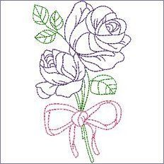 Diy Embroidery Designs, Embroidery Transfers, Vintage Embroidery, Cross Stitch Embroidery, Embroidery Patterns, Machine Embroidery, Hand Embroidery Flowers, Embroidered Flowers, Paper Quilling Jewelry
