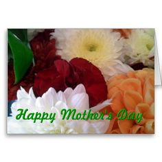 Mothers Day Sweet Floral Greeting Card