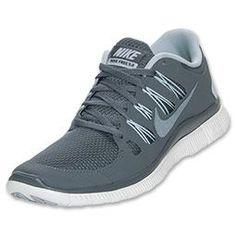Women's Nike Free 5.0+ Running Shoes | FinishLine.com | Armory Slate/Armory Navy
