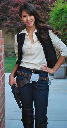 Female Han Solo Cosplay: a good one from The Stylish Geek