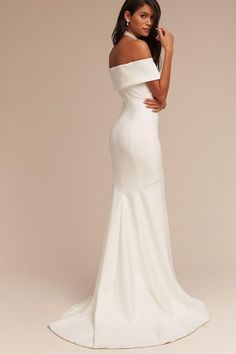 Theia Bridal Ivory Blake Gown | BHLDN