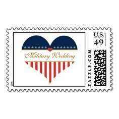US Heart Flag Military Wedding Postage Stamps => http://www.zazzle.com/us_heart_flag_military_wedding_postage_stamps-172293680033945133?CMPN=addthis&lang=en&rf=238590879371532555&tc=pinHPSOZPMilitaryWedding