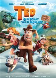 Ted en de schat van de mummie | Vanwege een ongelukkige verwarring wordt Ted, een dromerige bouwvakker, aangezien voor een beroemd archeoloog en op expeditie gestuurd naar Peru... (13-02-2013)