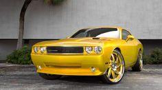 #Yellow 2009 Dodge Challenger