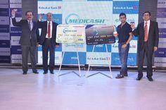 E-Meditek Global  launches Medicash Plus : E-Meditek Global  launches Medicash Plus -  Indias First Healthcare Reloadable Pre-Paid Card in partnership with Ratnakar Bank and VISA. | medicashplus