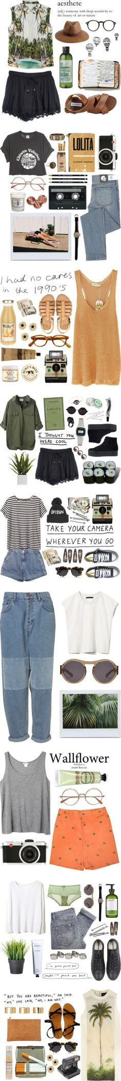 """out and about"" by liquidmoon ❤ liked on Polyvore"