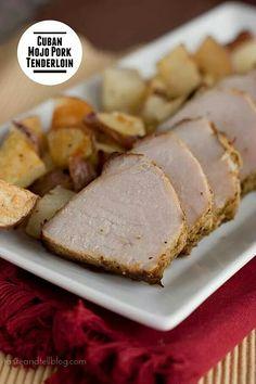 Cuban Moro Pork Tenderloin