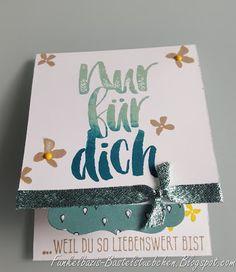 Funkelbazis Bastelstübchen: Hierzu die passende Geburtstagskarte...