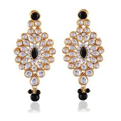 Black Buy Jewellery Online Chandelier Earring