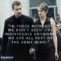 We may not have the numbers, but together Dauntless will fight for justice. Insurgent