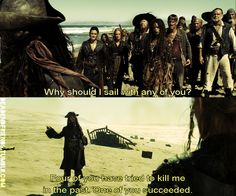 Jack Sparrow at his best The Pirates, Pirates Of The Caribbean, Funny Movies, Great Movies, Disney And Dreamworks, Disney Pixar, Jack Sparrow Quotes, Johny Depp, Pirate Life