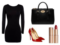 Classy by malineiksa on Polyvore featuring polyvore, fashion, style, Christian Louboutin, Mulberry and Charlotte Tilbury