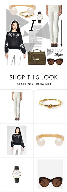 """MY STYLE"" by maral-asmani ❤ liked on Polyvore featuring moda, Sanctuary, Wanderlust + Co, Darling, Daniel Wellington, Quay, French Connection y famedrop"