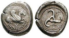 Les plus anciennes monnaies de la Grèce Antique