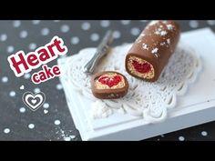 Adorable Heart Cake - YouTube