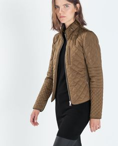 ZARA - SPECIAL PRICES - PADDED JACKET WITH ZIPS