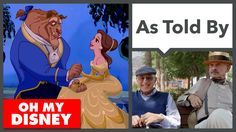 Beauty and the Beast as Told by Grandpas | Oh My Disney