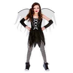 #Girls scary fairy #halloween #costume for fancy dress childrens kids childs, View more on the LINK: http://www.zeppy.io/product/gb/2/371321248447/