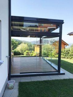 Garden Room Extensions, House Extensions, Rooftop Terrace Design, Patio Enclosures, House Extension Design, Glass Room, Backyard Patio Designs, Outdoor Pergola, Outdoor Living